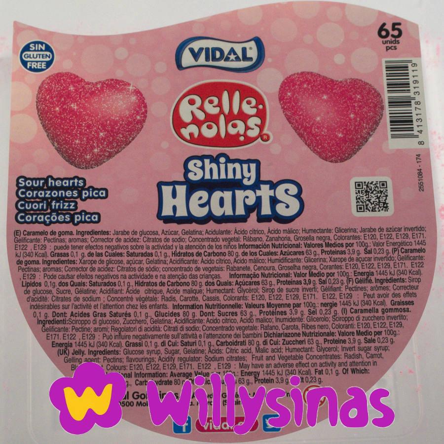 INGREDIENTES SHINY HEARTS