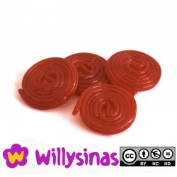 Discos de Regaliz Rojos de Haribo