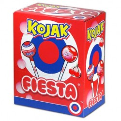 Chupon Kojak de Cereza relleno de chicle