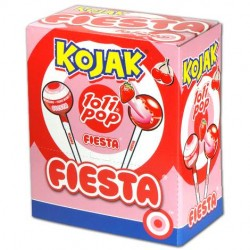 Chupon Kojak Lolipop relleno de caramelo masticable