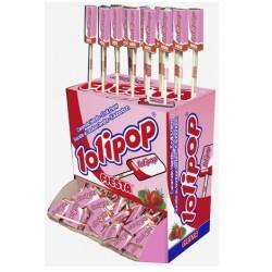 Lolipop Cola de Caramelo Masticable