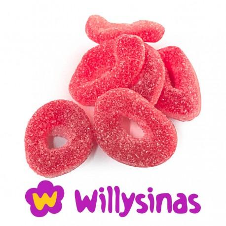 Aros de fresa