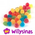 Lagrimas de gominola sabor a frutas