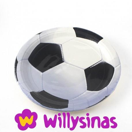 Platos grandes para una fiesta tematica de Futbol