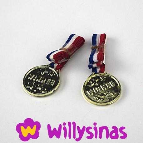 Medallas para reparto de premios en fiesta infantil