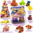 Bolsas de Chuches, Marshmallow, Gominolas, y el menaje de Winnie the Pooh para tu fiesta