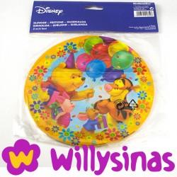 Guirnalda Redonda de Winnie The Pooh en la fiesta de globos