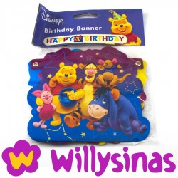 Girnalda Happy Birthday de Winnie The Pooh