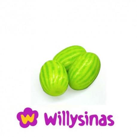 Melones de chicle rellenos de Acido